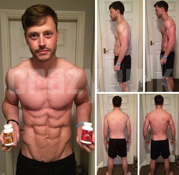 Crazybulk results before after pictures