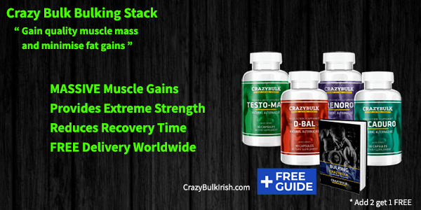 The Best Muscle Building Stack from CrazyBulk